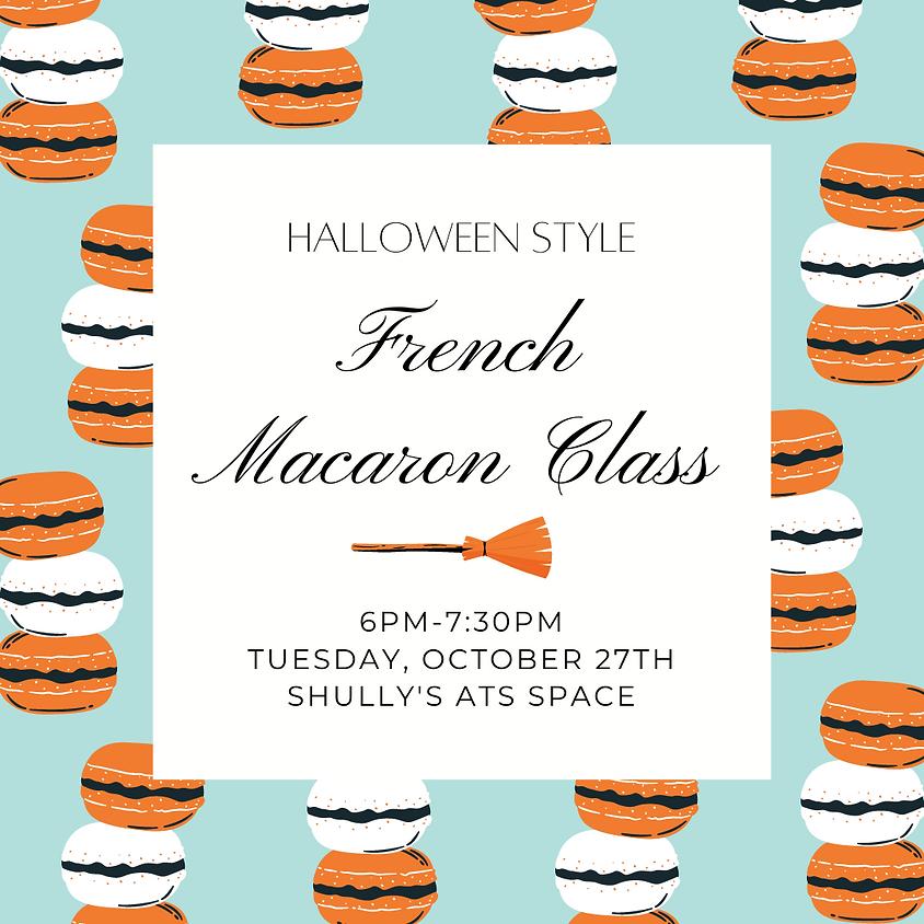 French Macaron Class - Halloween Style
