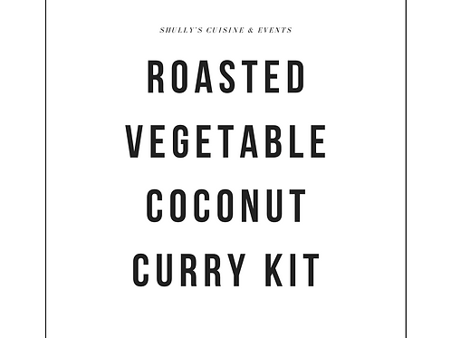 Roasted Vegetable Coconut Curry - GF, Vegan