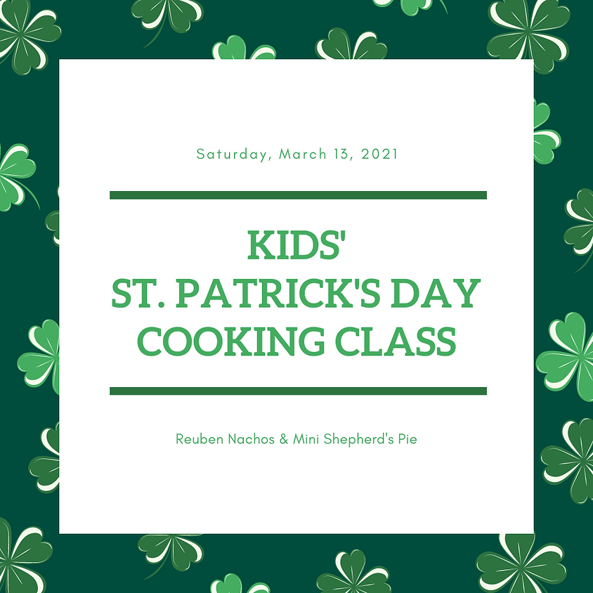 Kids' St. Patrick's Day Cooking Class