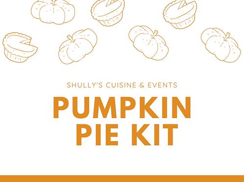 Pumpkin Pie Baking Kit