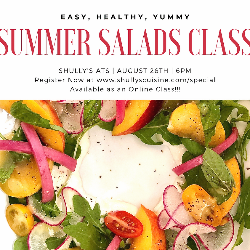 Summer Salads Class