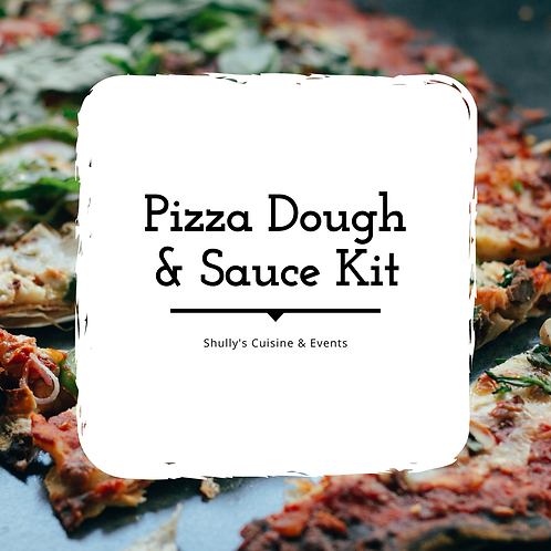 Pizza Dough & Sauce Kit