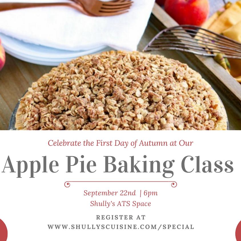 Apple Pie Baking Class