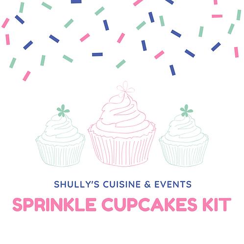 Sprinkle Cupcake Kit