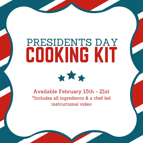 Presidents' Day Kids Cooking Kit