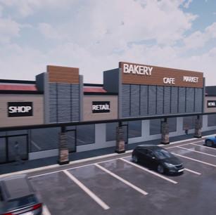 Alışveriş Merkezi Cephe Tasarımı
