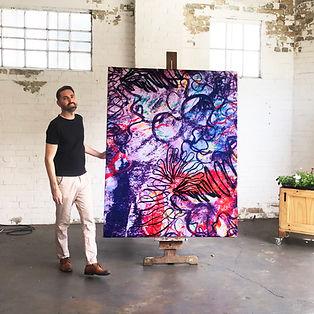 1. Matt and Purple Painting.jpg