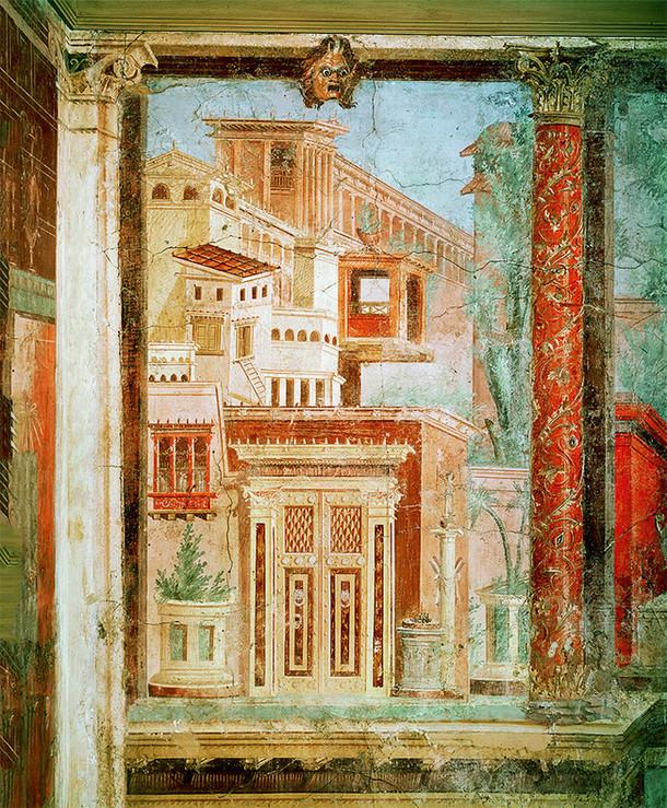 фреска, роспись стен