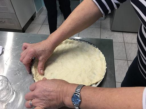 Pâte à tarte minute de Jeanine