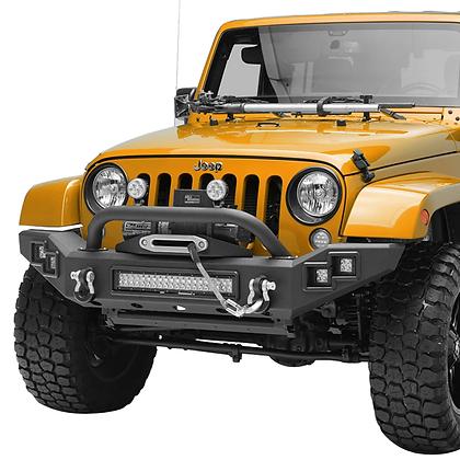 Paramount JK Full Width LED Light Style Front Bumper #51-7016