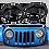 Thumbnail: Front Headlight Trim Cover - Matte Black