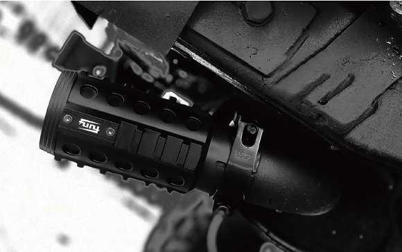 JK FURY Grenade Tail Throat - CNC Aluminum Alloy