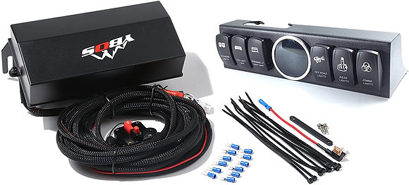 YBOS 6-switches control system for Jeep Wrangler JK 2009-2017