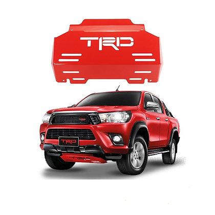 Hilux Revo TRD Skid Plate -Red