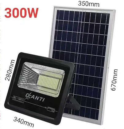 300W LED Solar Outdoor Flood Light