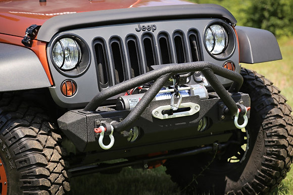 Punisher Double X Striker Front Bumper with Winch Mount