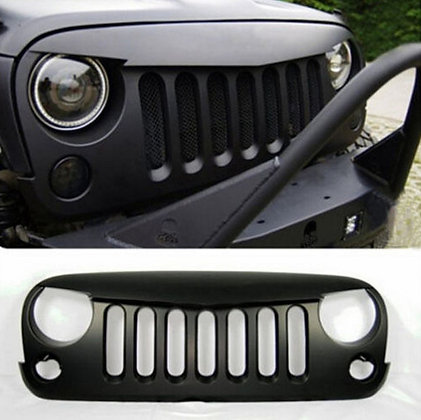Angry bird grille w/o build-in 3D metal mesh Matte