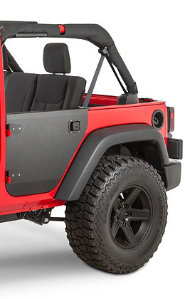 JKU Aluminum Rear Half Door Tube Tubular Door