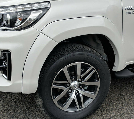 Hilux Rocco Fender Flares Wheel Arches