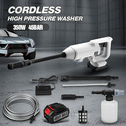 Electric Handheld Portable Cordless High Pressure Car Washer