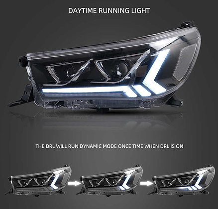 Toyota Revo Rocco LED Projector Headlights 2015-on