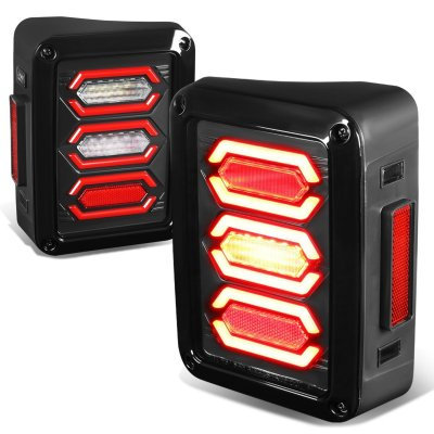 LT5 Red Tube Tail Light- Smoke Lens