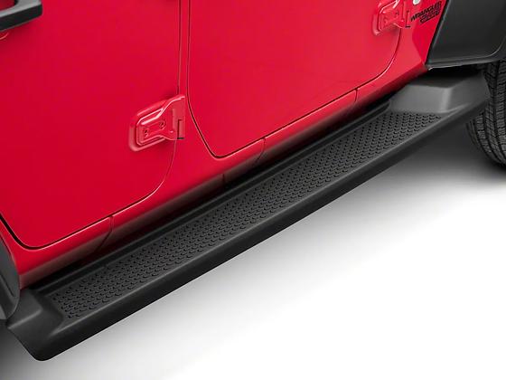 JL Factory Style  Side Steps 4-Door ABS