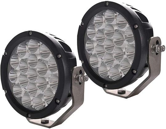 7inch 90W Spot LED Driving Work Light Round - pair