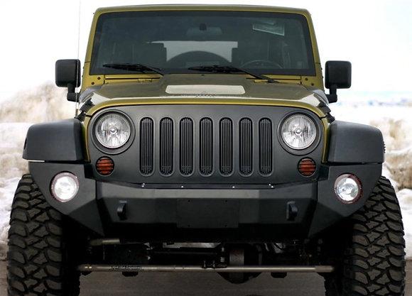 JK Rigid Front Bumper Complete - Steel