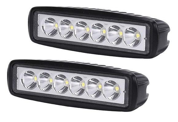 18W LED Work Light - Pair