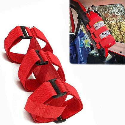 Roll bar extinguisher holder - RED
