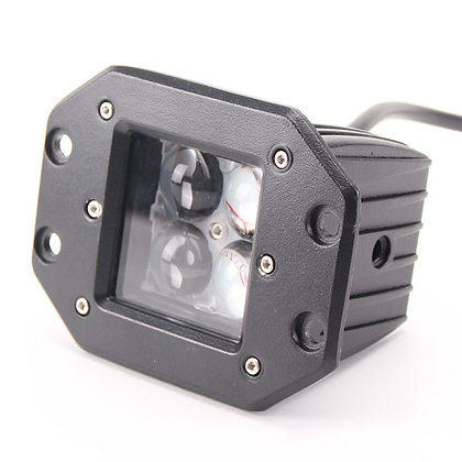 Bumper Mount 4D Spot Beam CREE LED Light - Pair
