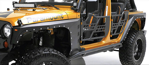 Steel Armor Fender Flares 4-door