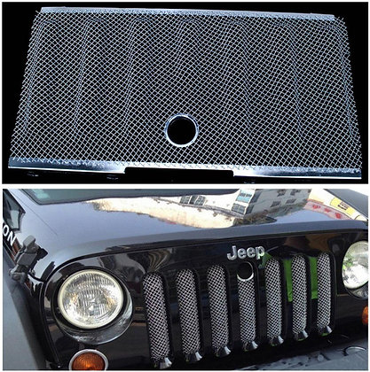 Bug Screen 3D Mesh Grill - Silve