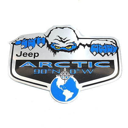 SNOW MONSTER Metal Badge  (1pc)