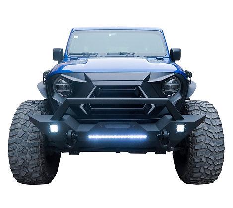Longhorn JK Full Width LED Front Bumper