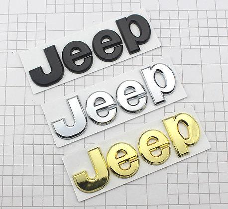 Jeep Metal Logo