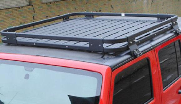 Rooftop Aluminium Luggage Rack 4 Door