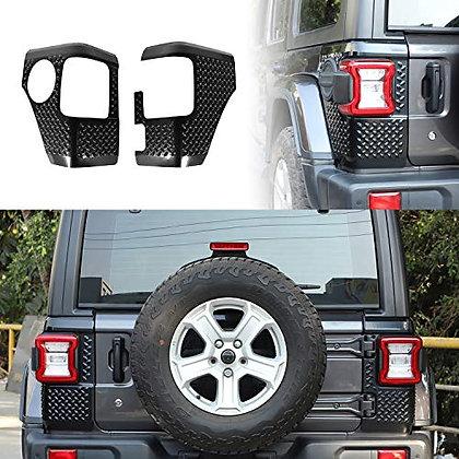 JL Rear Corner Guard Tail light Cover Body Armor -Matte Black