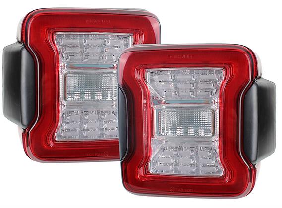 LT10 JL style Tail lights Clear Lens European version for JK/JKU