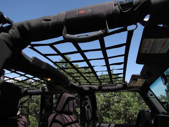 Jeep Wrangler Roof or Back Window Short Net