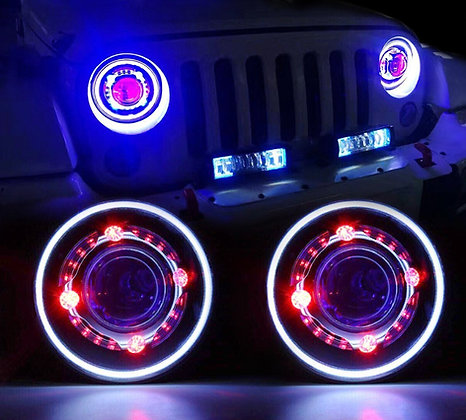 Demon Eye LED Projector Headlight