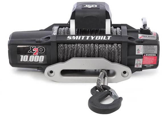 Smittybilt Gen2 X2O COMP Series 10,000 lb. Winch w/ Synthetic Rope &Wireless Ctl