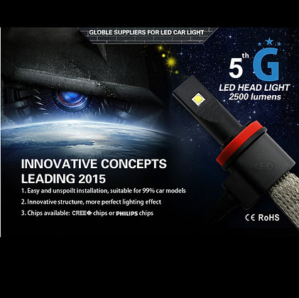5G H4 3000LM High/Low Beam