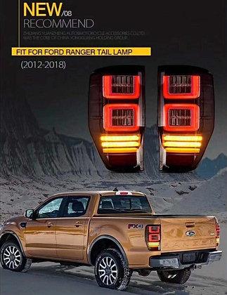 Ford Ranger LED Tail Light - Smoke Lens