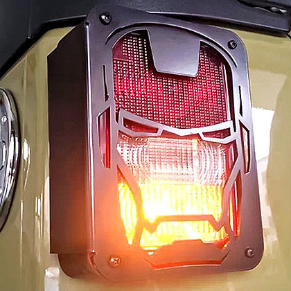 Transformer Steel Tail Light Protector