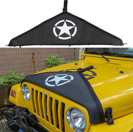 TJ Front Hood Cover Front End Bra Protector - Star