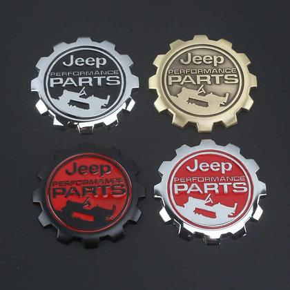 Jeep Performance Parts Badge - Metal