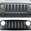 Thumbnail: New JL Style Black Mesh Grille for Jeep Wrangler JK / JKU 2007-2018