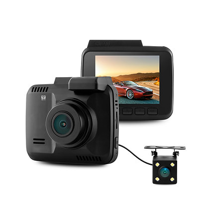 GS63D Dual Lens 4K High Resolution Dashcam